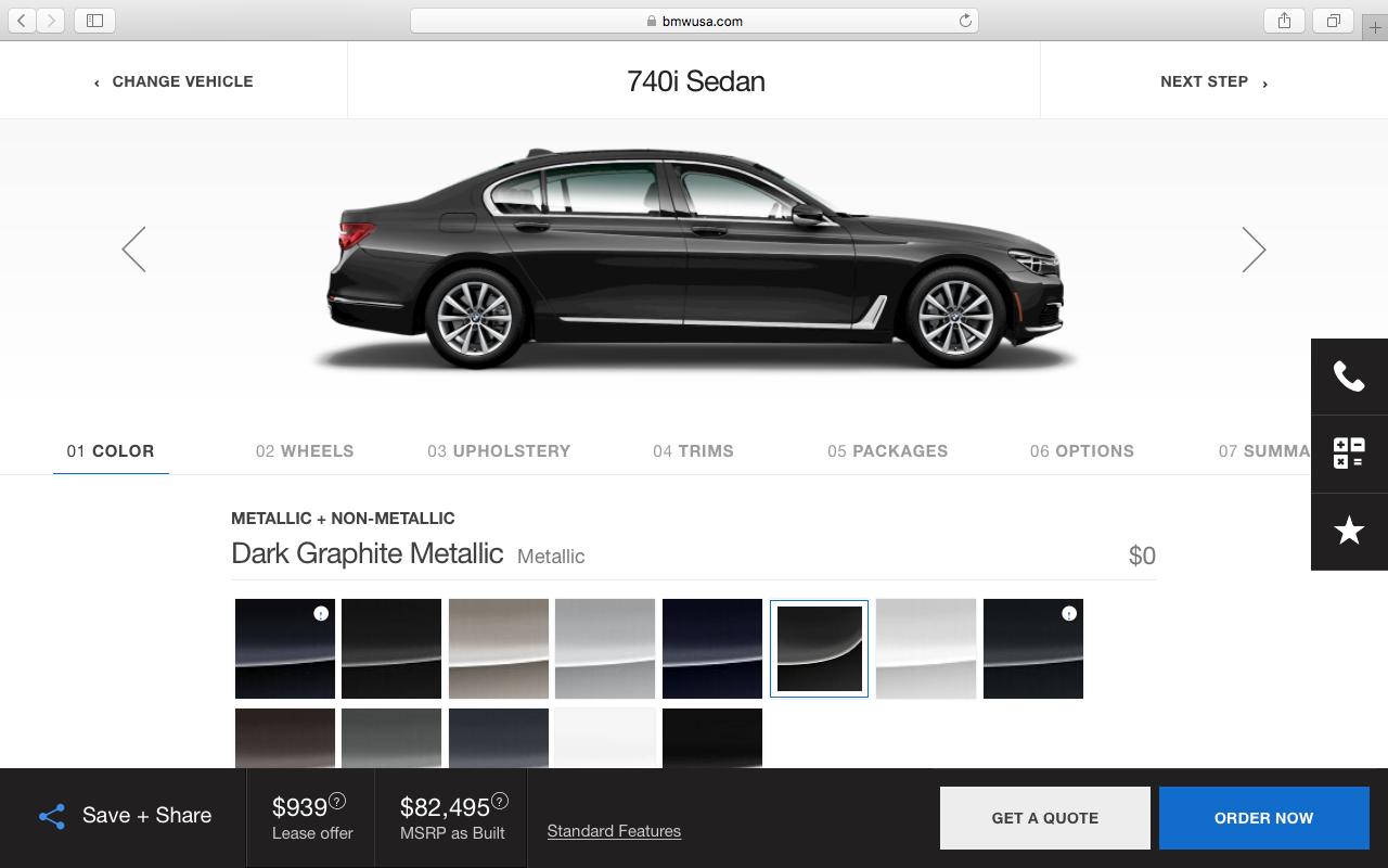 BMW USA | Configurator Database