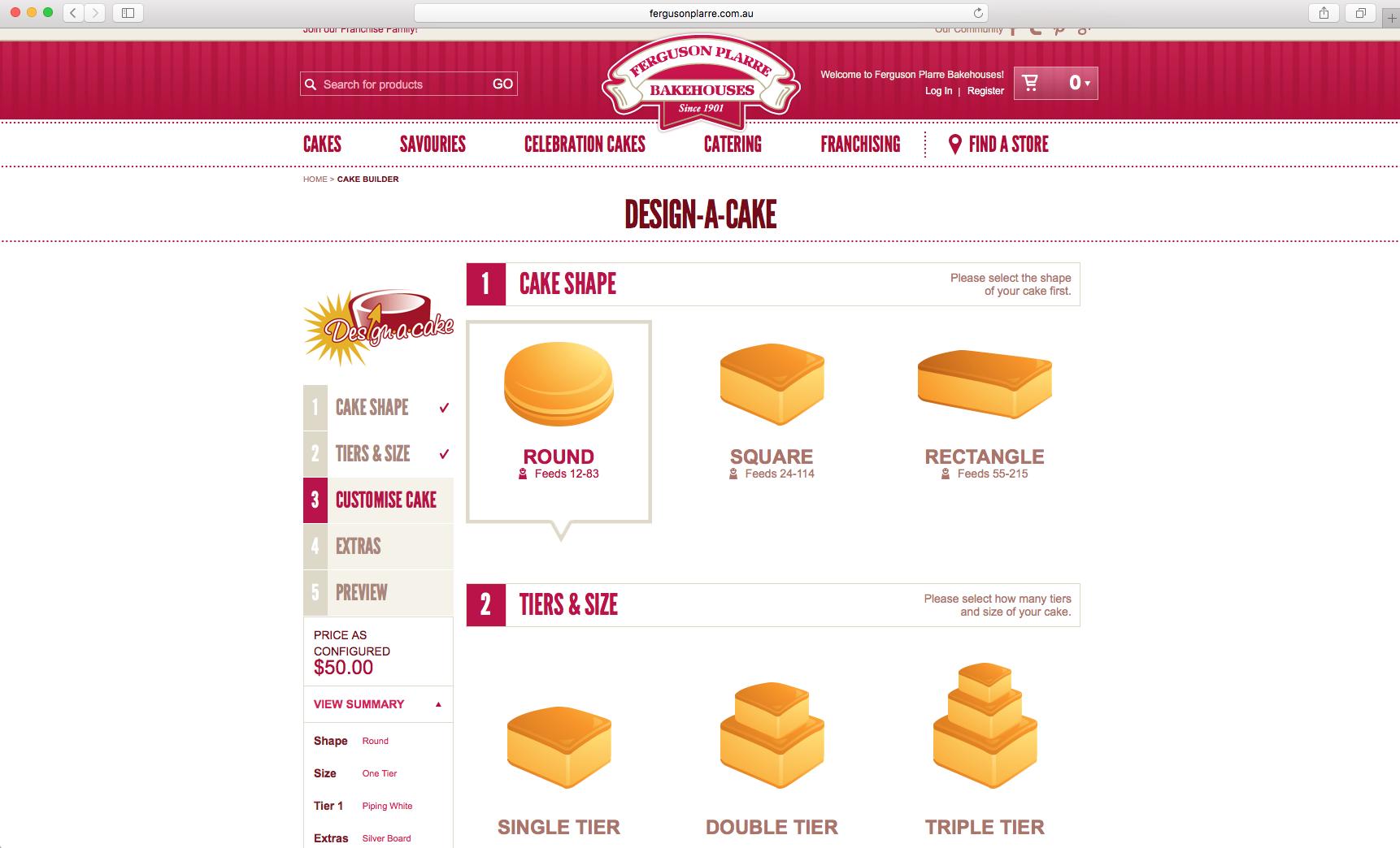 Cake Configurator