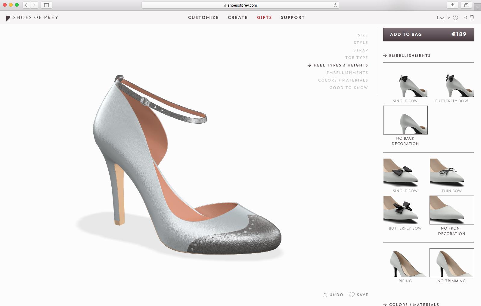 Shoes Of Prey Australia Contact