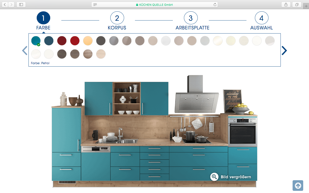 K chen quelle configurator database for House configurator