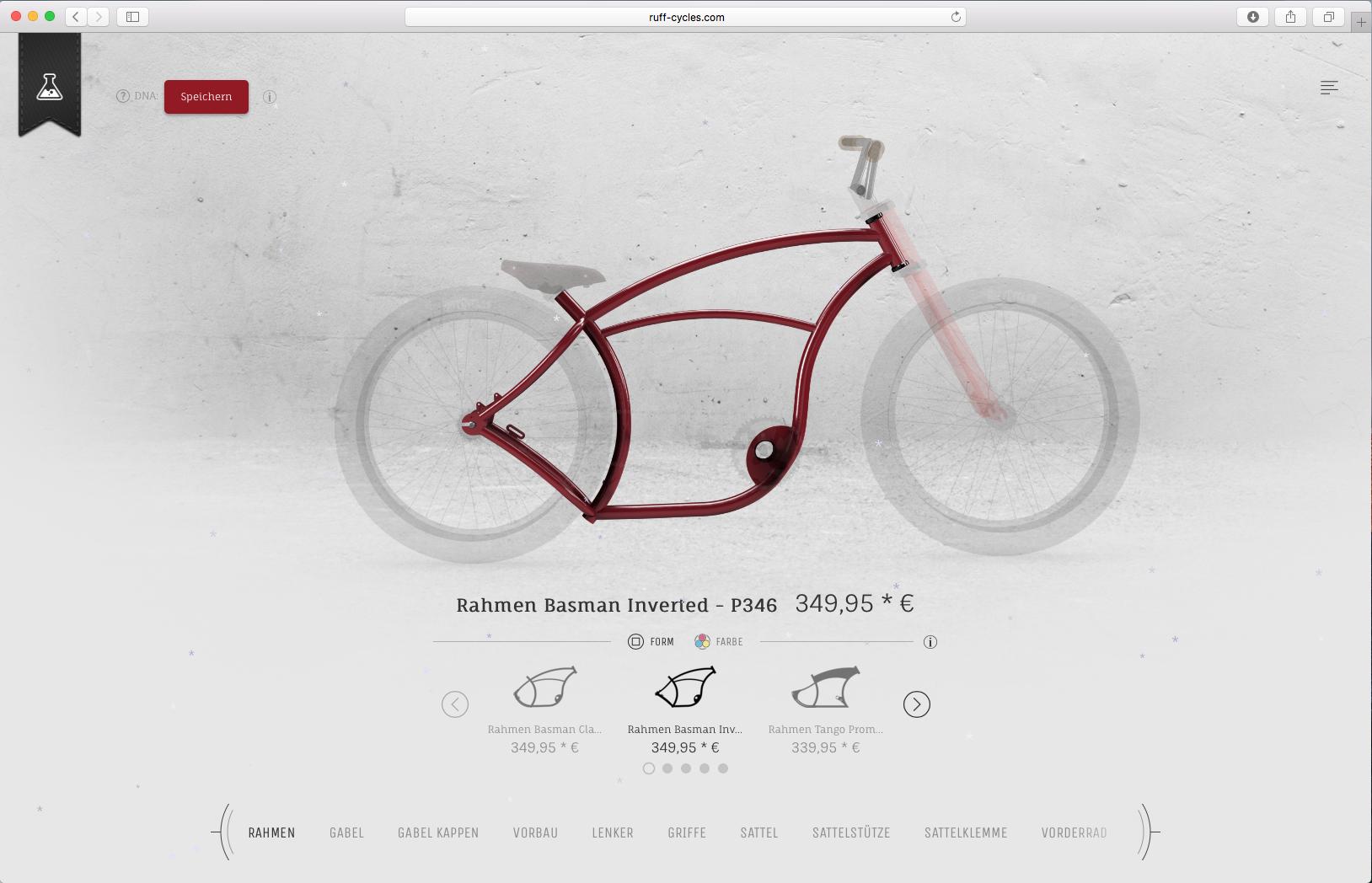 Ruff Cycles | Configurator Database
