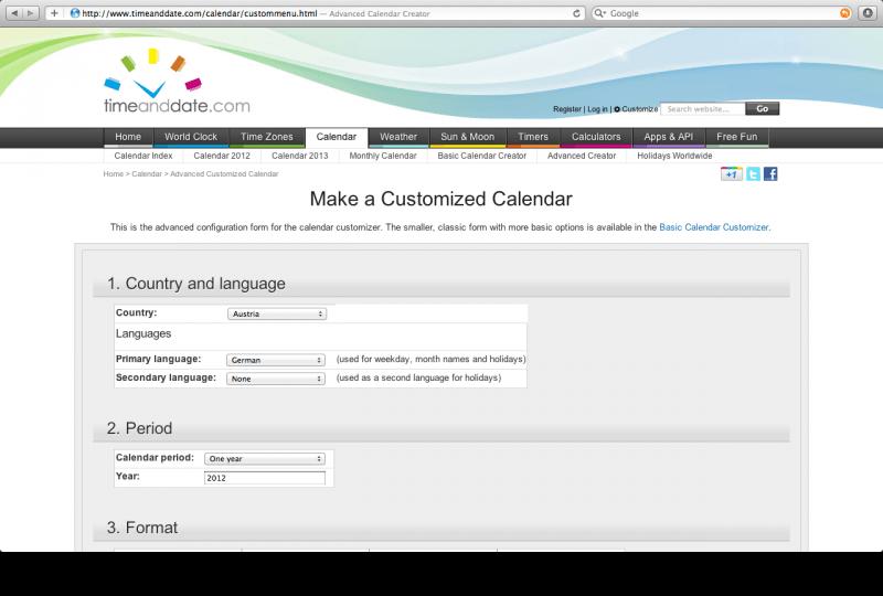 timeanddate com configurator database