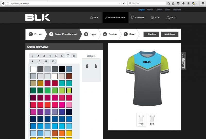 BLK Sport   Configurator Database