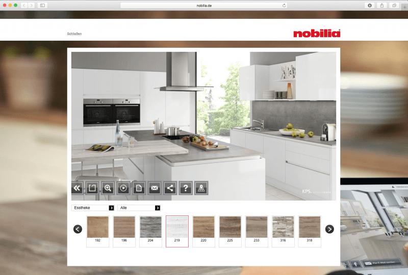 Nobilia Configurator Database
